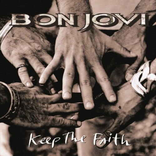 Bon Jovi Keep The Faith cover art