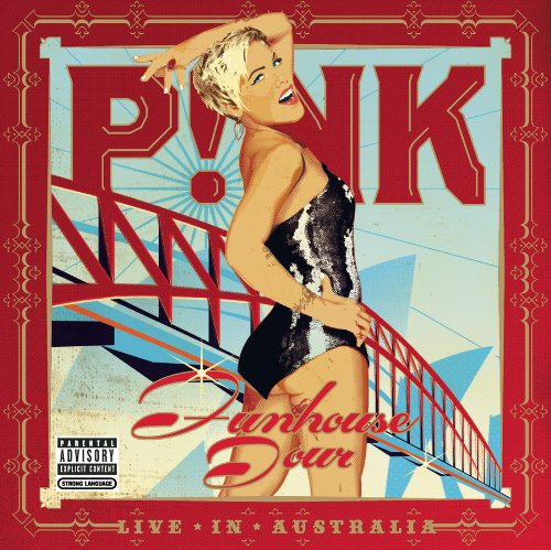Pink Glitter In The Air cover art