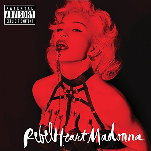 Madonna Living For Love cover art