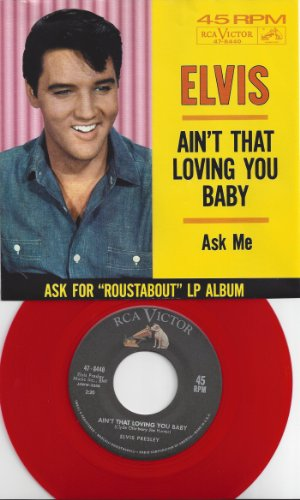 Elvis Presley Ain't That Loving You, Baby cover art