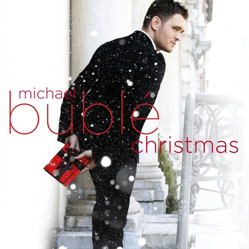 Michael Buble Santa Baby cover art