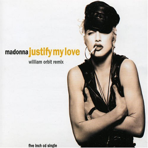 Madonna Justify My Love cover art