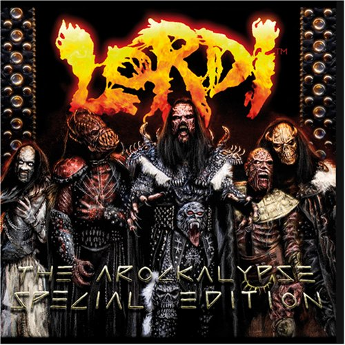 Lordi Hard Rock Hallelujah cover art