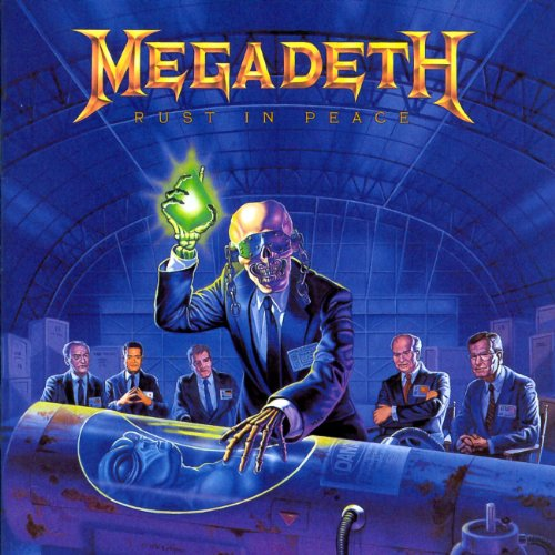 Megadeth Dawn Patrol cover art