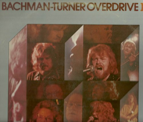 Bachman-Turner Overdrive Let It Ride cover art