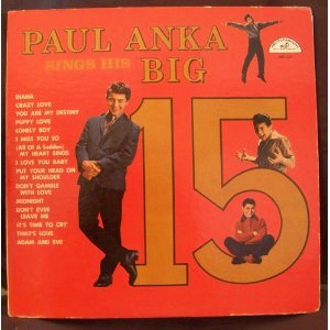Paul Anka Lonely Boy cover art