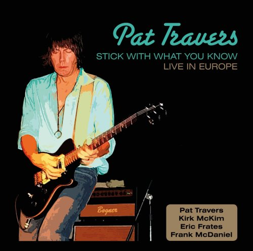 Pat Travers Snortin' Whiskey cover art