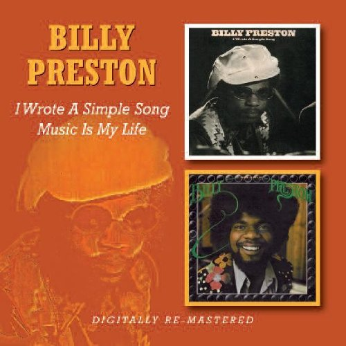 Billy Preston I Wrote A Simple Song cover art