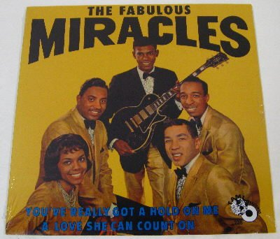 The Miracles You've Really Got A Hold On Me cover art