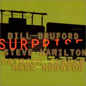 Bill Bruford The Shadow Of A Doubt cover art