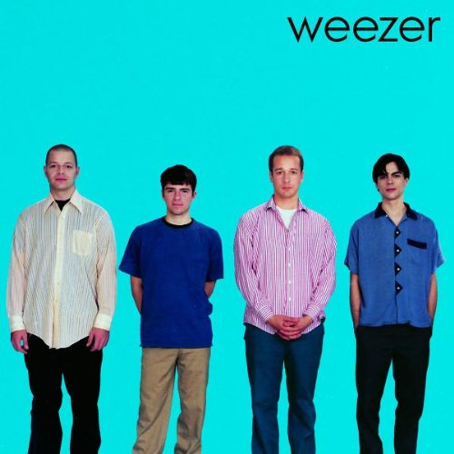 Weezer Buddy Holly cover art
