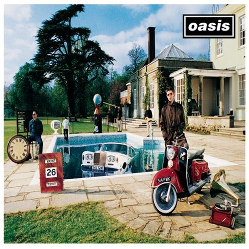 Oasis The Girl In The Dirty Shirt cover art