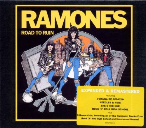 Ramones I Wanna Be Sedated cover art