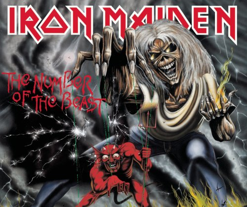 Iron Maiden Hallowed Be Thy Name cover art