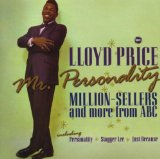 Personality sheet music by Lloyd Price