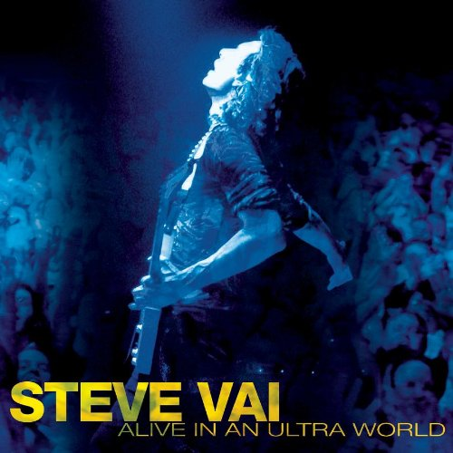 Steve Vai Burning Rain cover art