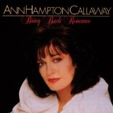 Ann Hampton Callaway:You Can't Rush Spring