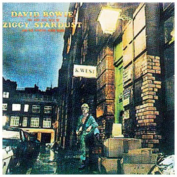 David Bowie Rock 'n' Roll Suicide cover art