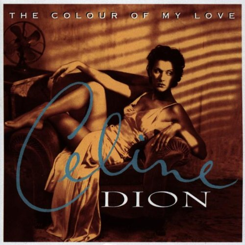 Celine Dion The Colour Of My Love cover art