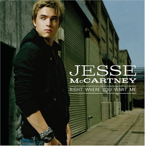 Jesse McCartney Right Where You Want Me cover art