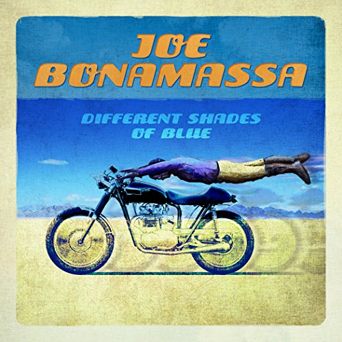 Joe Bonamassa Different Shades Of Blue cover art