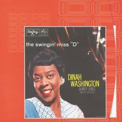 Dinah Washington Never Let Me Go cover art