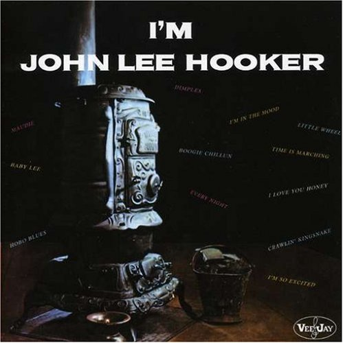 John Lee Hooker I'm In The Mood cover art