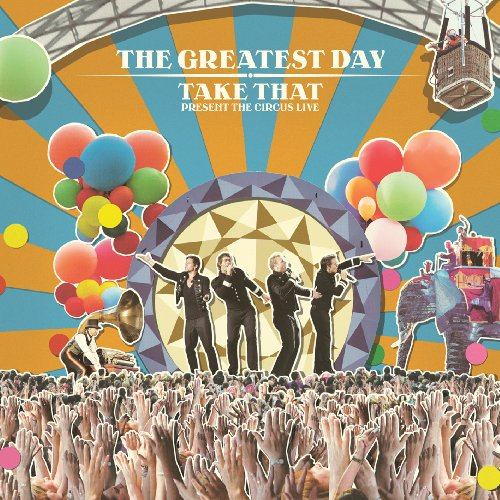 Take That The Circus cover art