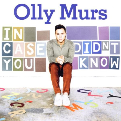 Olly Murs I Need You Now cover art