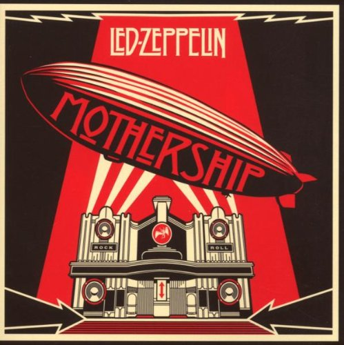 Led Zeppelin Black Dog cover art