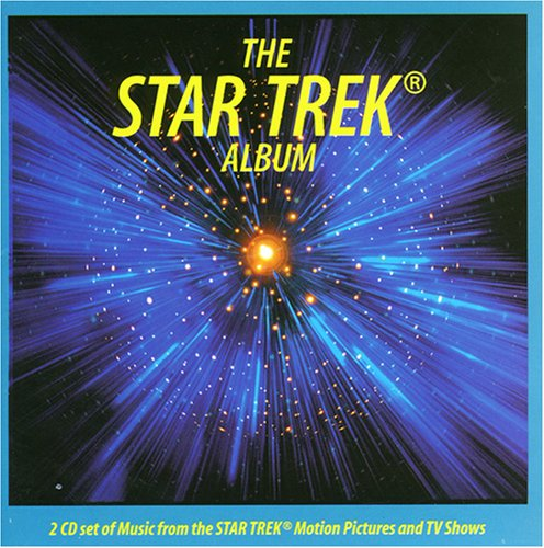 Alexander Courage Theme From Star Trek cover art
