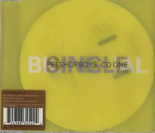 Pet Shop Boys Single-Bilingual cover art