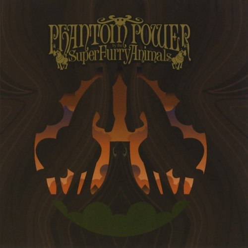 Super Furry Animals Golden Retriever cover art