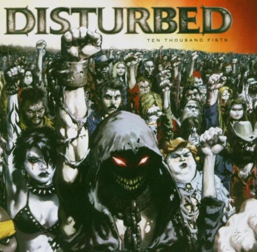 Disturbed Stricken cover art