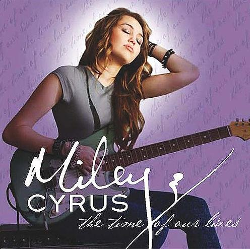 Miley Cyrus When I Look At You cover art