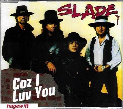 Slade Coz I Luv You cover art
