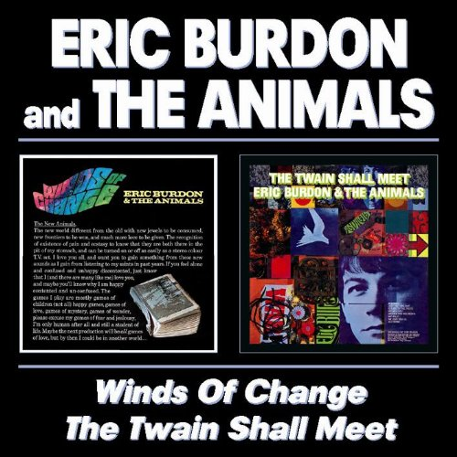 Eric Burdon & The Animals San Franciscan Nights cover art