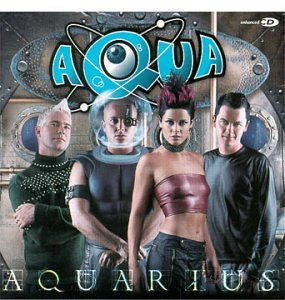 Aqua Back From Mars cover art