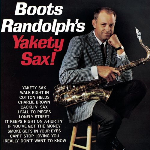 Boots Randolph Yakety Sax cover art