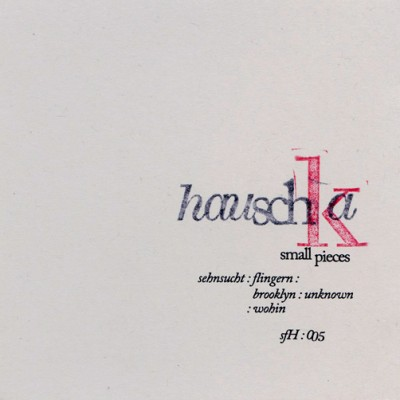 Hauschka Flingern cover art