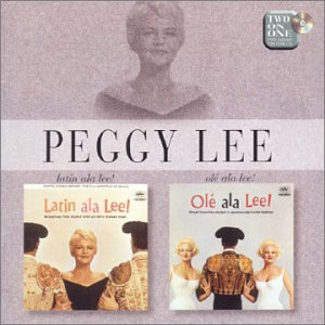Peggy Lee Dance Only With Me cover art