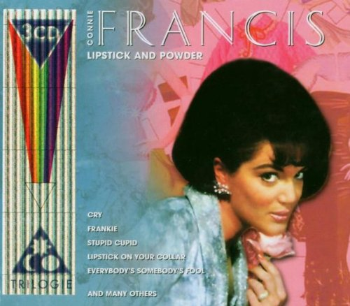 Connie Francis Lipstick On Your Collar cover art