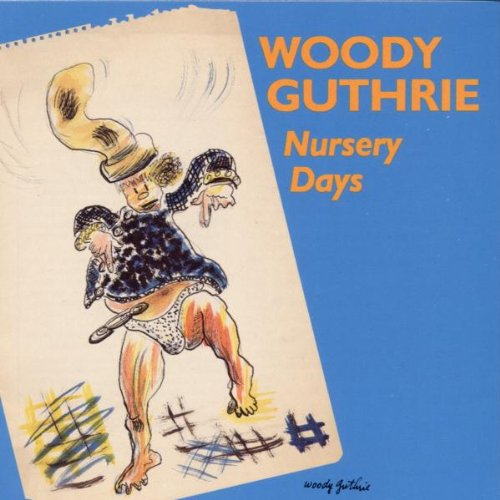 Woody Guthrie Riding In My Car cover art