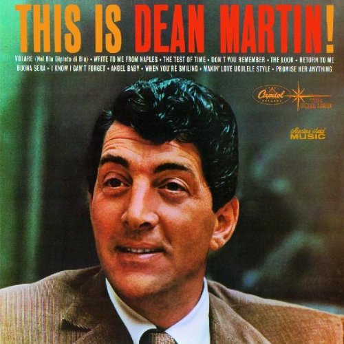 Dean Martin Return To Me cover art