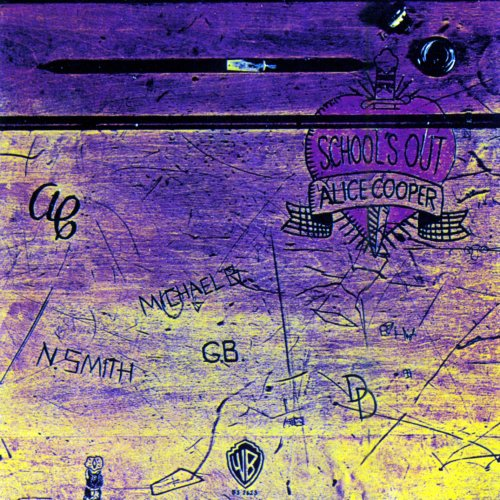 Alice Cooper School's Out cover art