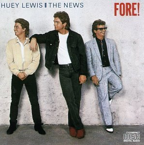 Huey Lewis & The News Jacob's Ladder cover art