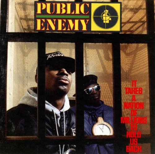 Public Enemy Don't Believe The Hype cover art