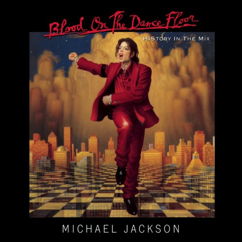 Michael Jackson Blood On The Dance Floor cover art