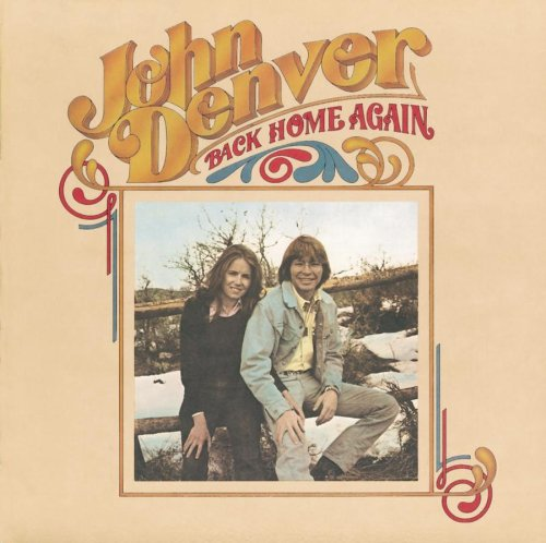 John Denver Back Home Again cover art