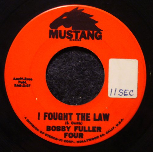 I Fought The Law Chords By Bobby Fuller Four Melody Line Lyrics